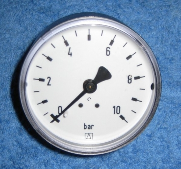 Manometer 0-10bar (selbstdichtend) Afriso